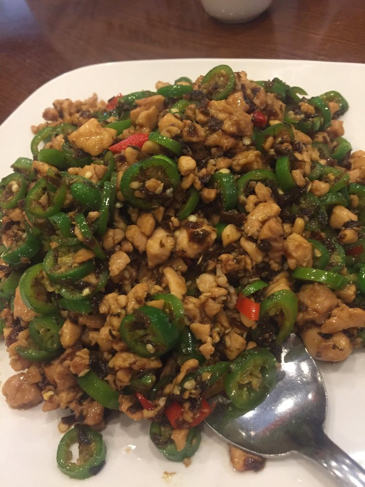 ZWCD【滋味成都】鸡米芽菜 Minced Chicken with Pickled Vegetable (晚餐不配饭)