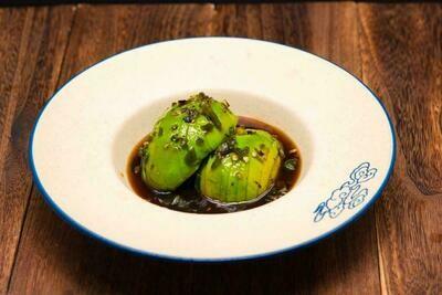 XXKT【小熊川菜KT】❄烧椒牛油果 Avocado Charred Pepper Salad