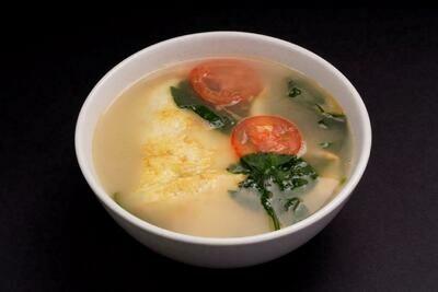 XXKT【小熊川菜KT】番茄煎蛋汤 Egg and Tomato Soup