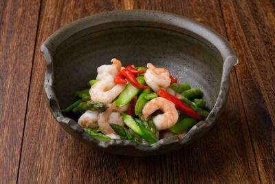 XXCT【小熊川菜CT】芦笋虾仁 Shrimp with Asparagus (除节假日外每周二休息)