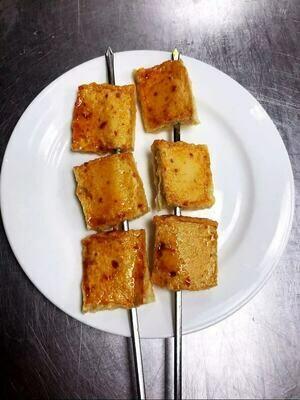 KLM【坤拉面】烤千页豆腐串 BBQ Tofu Sheets Skewers