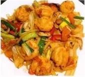 KLM【坤拉面】新疆鲜虾炒面/刀削面 Xingjiang Style Shrimp Ramen