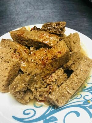 JFMX【九福米线】卤面筋 Gluten with Seasame Sauce
