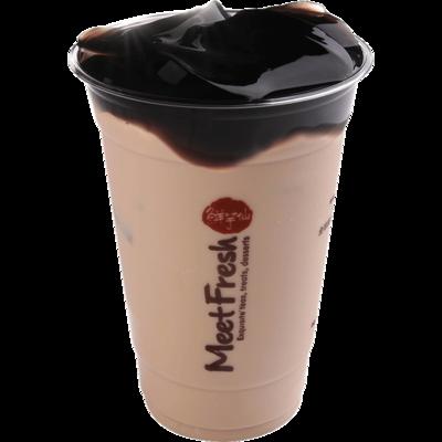 XYX【鲜芋仙】仙草冻奶茶 Milk Tea w/Grass Jelly (限Houston本地购买)
