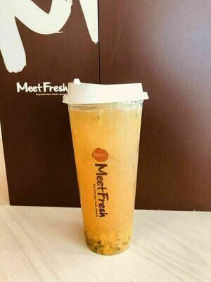 XYX【鲜芋仙】芒果百香绿茶 MPGT(限Houston本地购买)