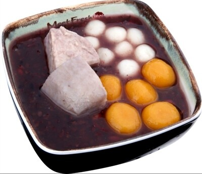 XYX【鲜芋仙】热招牌紫米粥 Signature Hot Purple Rice Soup (限Houston本地购买)