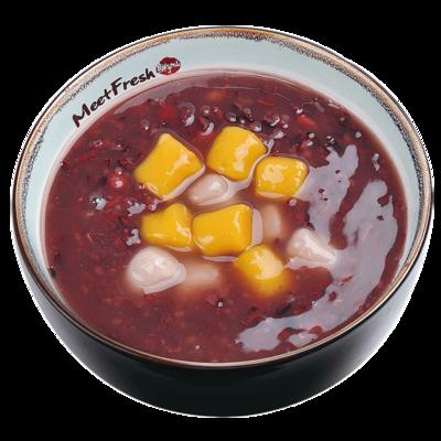 XYX【鲜芋仙】芋圆紫米粥 Purple Rice Soup w/Taro Ball (限Houston本地购买 )