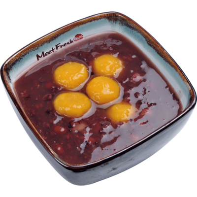 XYX【鲜芋仙】芋薯圆紫米粥 Purple Rice Soup w/Sweet Potato Taro Ball (限Houston本地购买 )