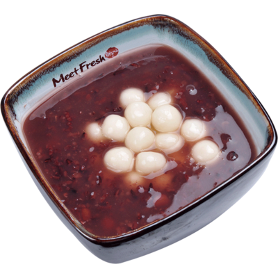 XYX【鲜芋仙】白玉汤圆紫米粥 Purple Rice Soup w/Rice Ball (限Houston本地购买 )