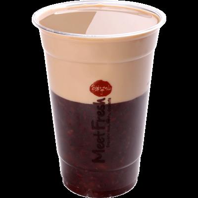 XYX【鲜芋仙】紫米奶茶 Purple Rice Drink w/Milk Tea (限Houston本地购买)