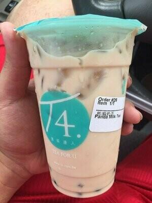 T4【清茶达人】熊猫奶茶 Panda Milk Tea