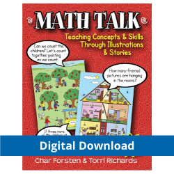 Math Talk: Teaching Concepts & Skills Through Illustrations & Stories (Digital Download)