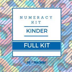 Kindergarten Numeracy Kit - FULL