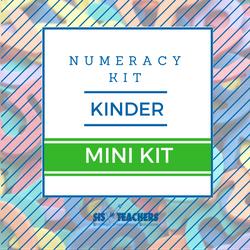 Kindergarten Numeracy Kit - MINI