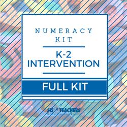 K-2 Intervention Numeracy Kit - FULL
