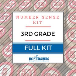 3rd Grade Number Sense Kit - Full