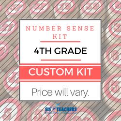 4th Grade Number Sense Kit - Custom
