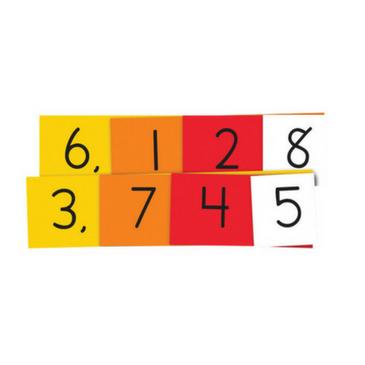 Place Value 4 Digit Strips (DEMO Set)