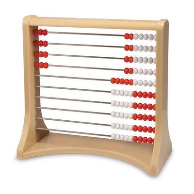 Abacus (red/white)