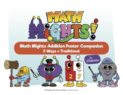 Math Mights Download Companion: Addition Strategies