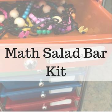 Math Salad Bar Kit