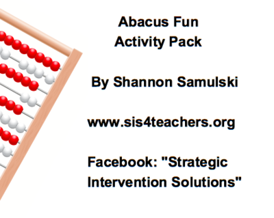 Abacus Fun Activity Pack (Addition/Subtraction)