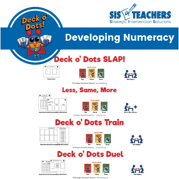 Deck o' Dots Game Bundle: Developing Numeracy
