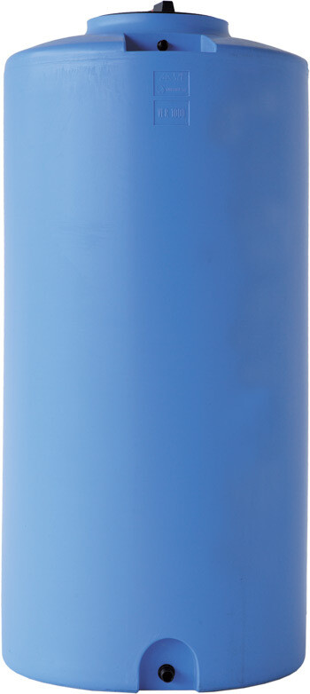 Serbatoio Cilindrico verticale in resina 300/500 Lt