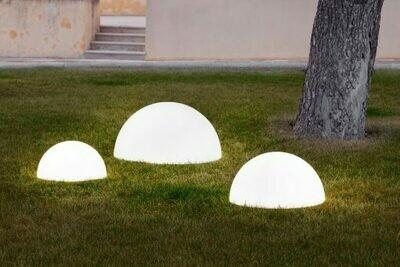 Lampada Mezza Sfera luminosa Baby Moon 37/43/53/58  cm