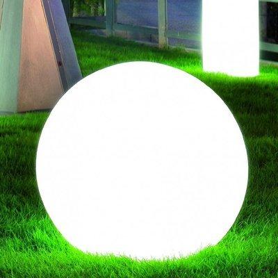 Lampada sfera luminosa Moon 30/37 cm