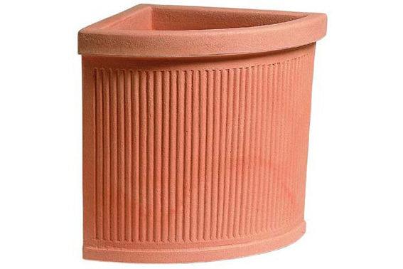 Vaso Angolare Dobbiaco 46x46xh 53 cm
