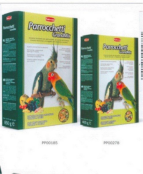 Mangime Padovan Grandmix parrocchetti 12 confezioni da 850 gr (10,2 kg)