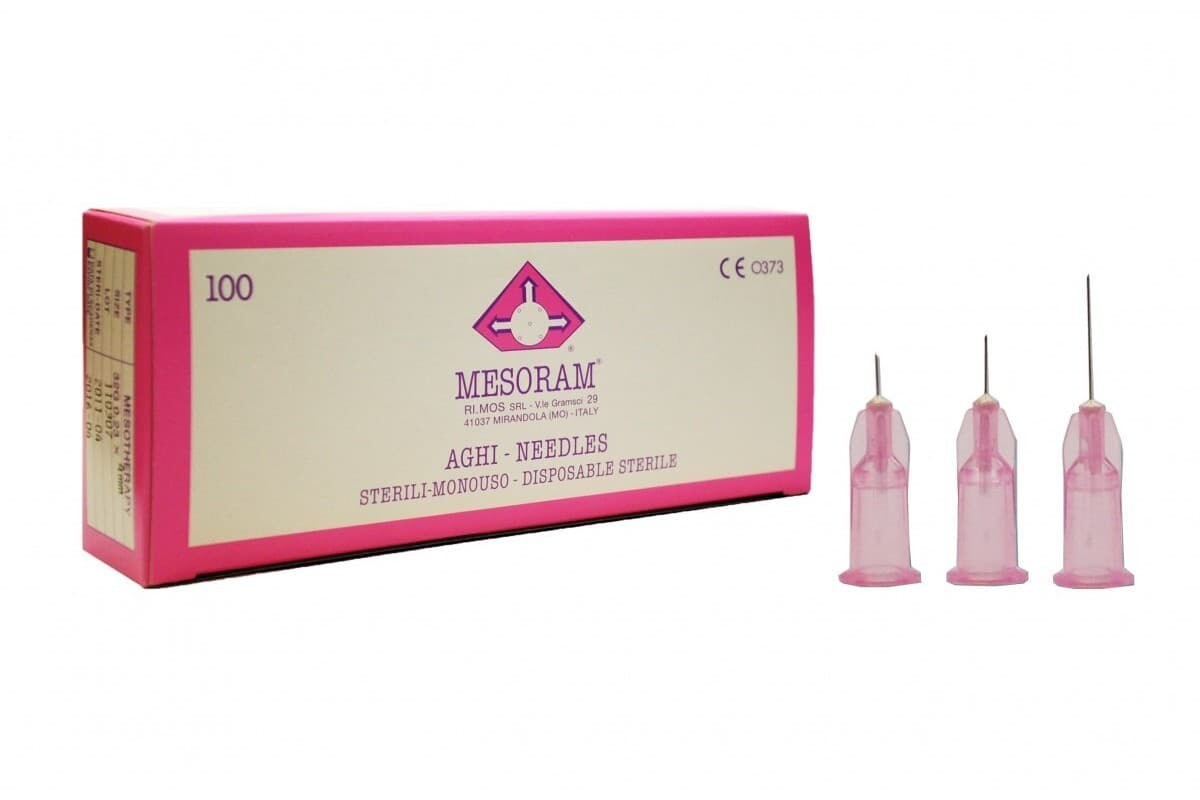 Игла для микроинъекций 32 G LUER (0,23 х 4мм) Mesoram,  шт.