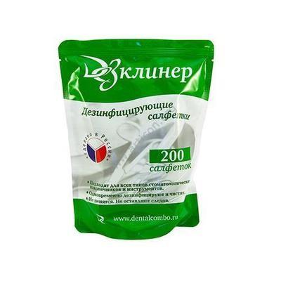 ДЕЗ КЛИНЕР (зап. блок) 200 шт (дез. салфетки)