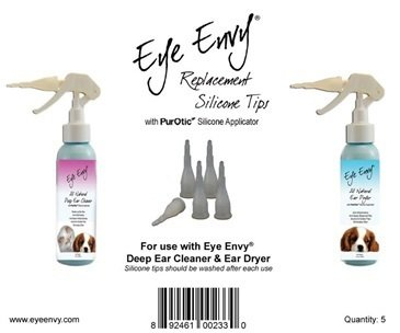 Eye Envy Replacement Silicone Tips -5 Наконечники сменные ком-т 5 шт