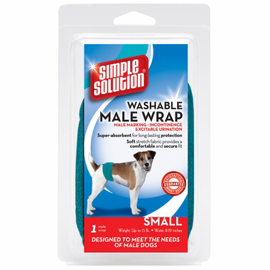 Simple Solution Washable Male Wrap Гигиенический пояс для кобелей многоразового использования.