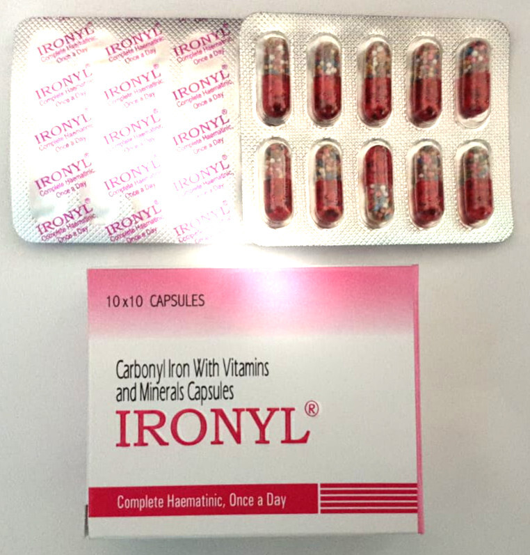 Ironyl Iron Supplement (100 caps)
