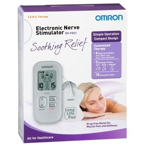 OMRON Electronic Nerve Stimular HV-F021
