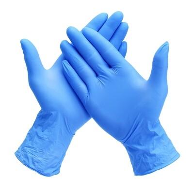 Nitrile Powder-free Examination Gloves (10 Pairs) (Medium)