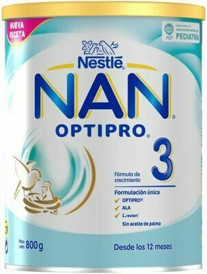 Nan Optipro Growth Milk Formula - Stage 3