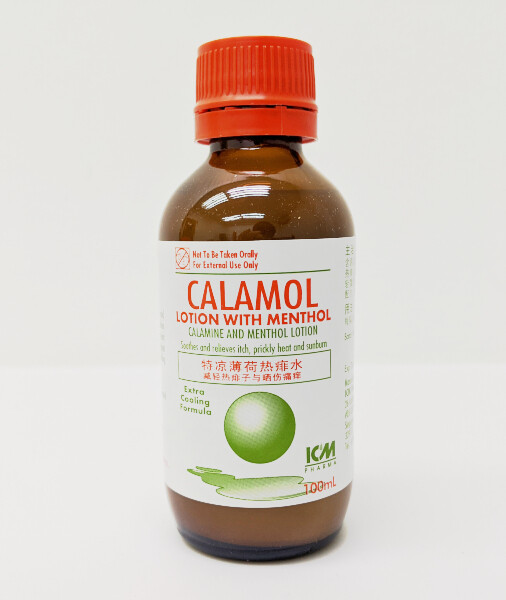 Calamine Lotion with Menthol (100ml)
