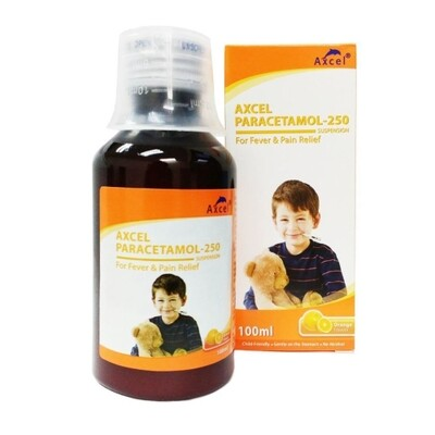 Axcel Paracetamol 250mg/5ml Syrup (1 bottle)