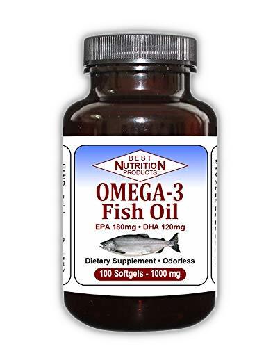 Omega 3 Fish Oil 1000 mg (100 capsules)