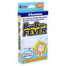 Bye Bye Fever Cooling Gel Sheet For Babies (1 box)