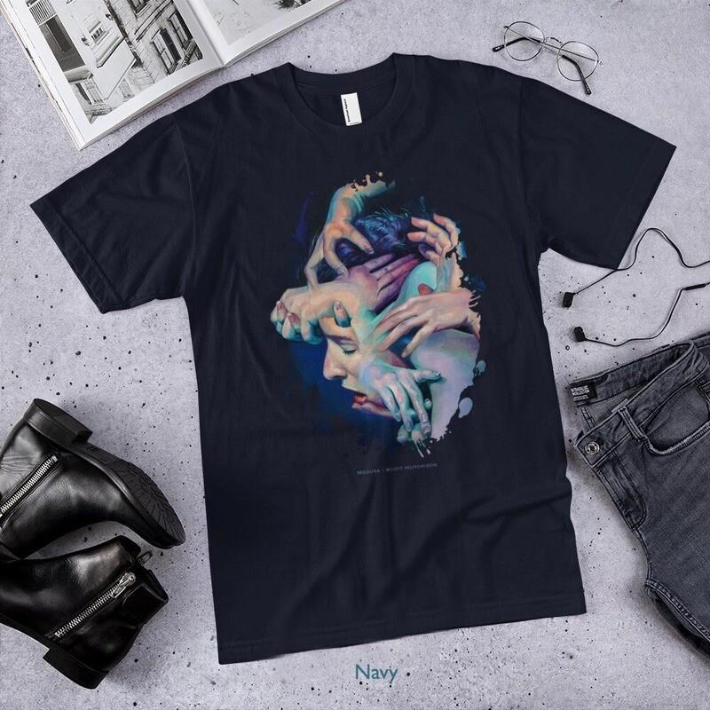Medusa - American Apparel T-shirt by Scott Hutchison