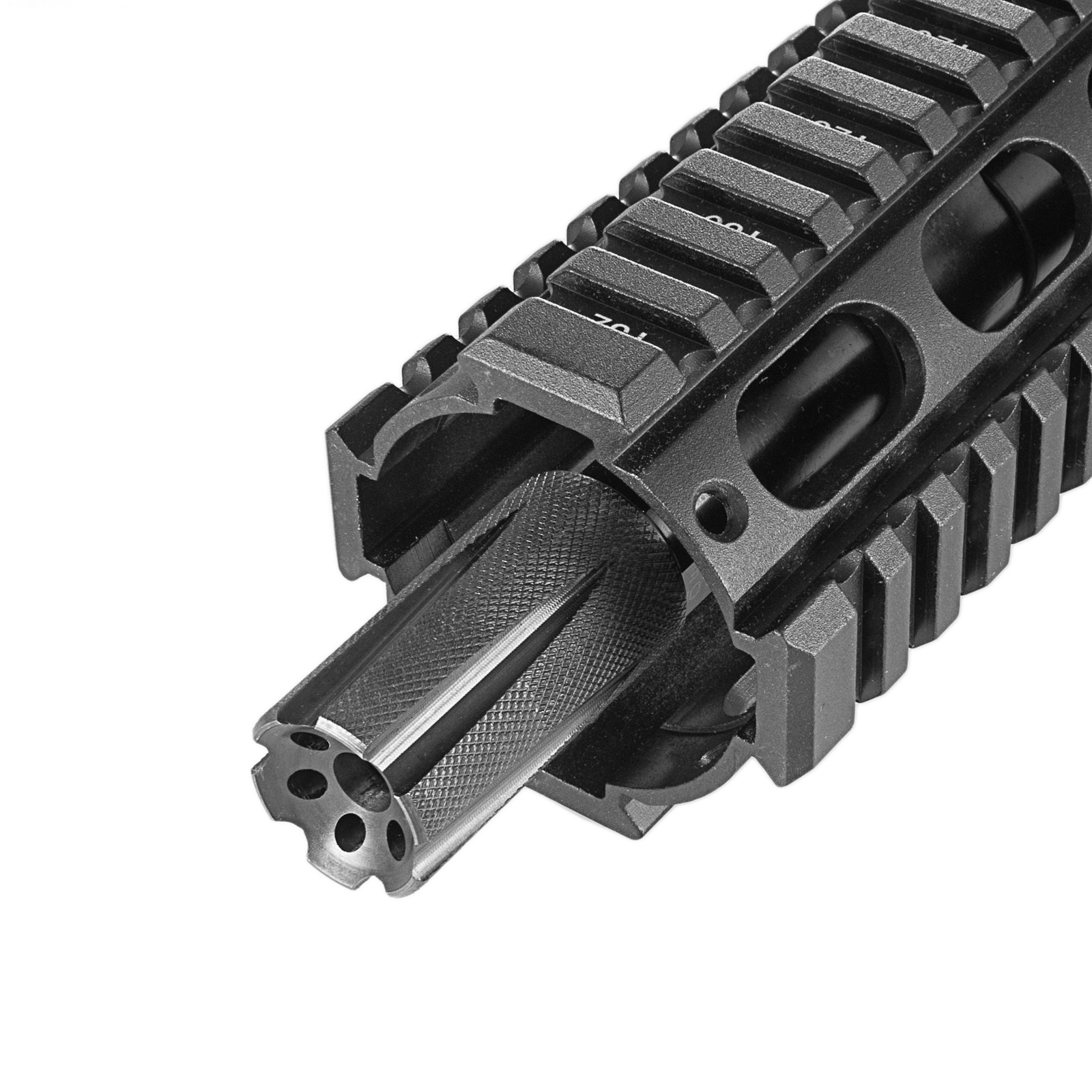 Tactical Low Concussion Rifle Muzzle Brake