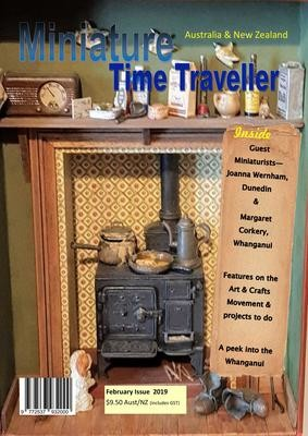 February 2019 - Miniature Time Traveller Magazine - Single Issue only. Postage extra.