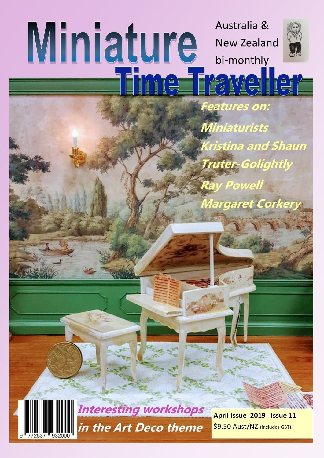 April 2019 - Miniature Time Traveller Magazine - Single Issue only. Postage extra.