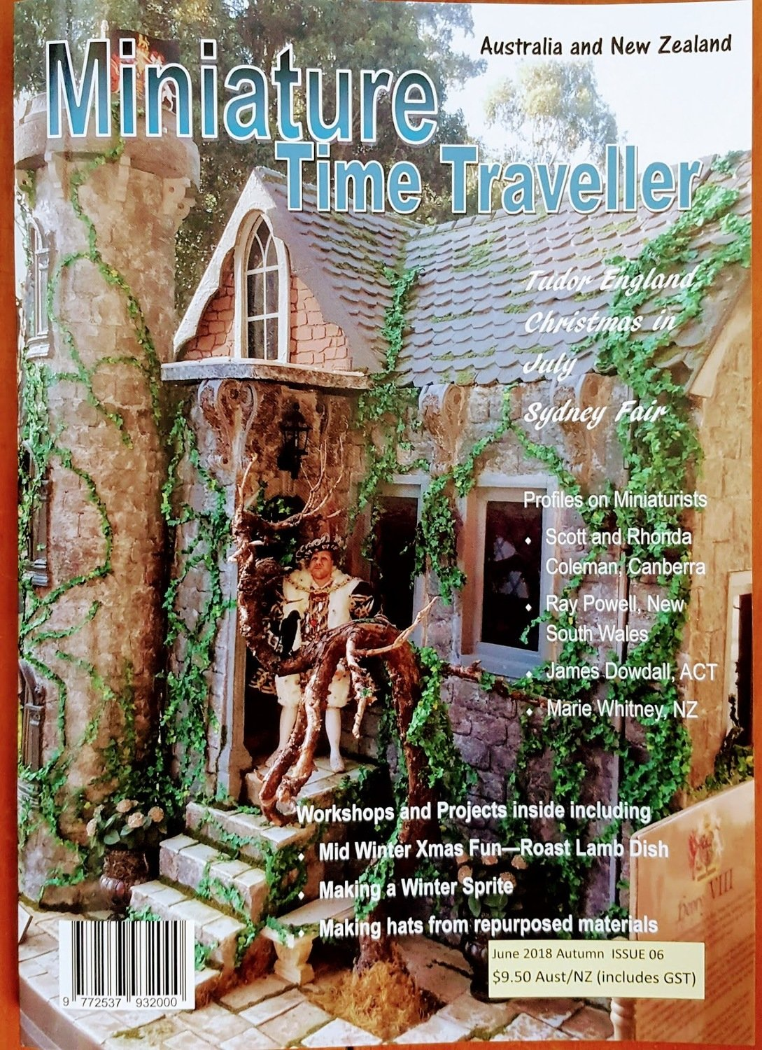 June 2018 Issue - Miniature Time Traveller Magazine - Single copy only. Postage extra