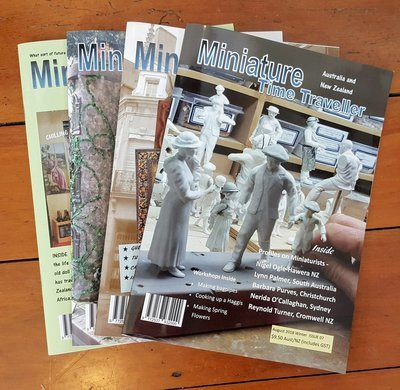 SPECIAL 2 YEAR SUBSCRIPTION OFFER! Miniature Time Traveller Magazine. SAVE 15% with an Annual subscription AND receive free gift valued at $45.  12 Copies plus P&P.